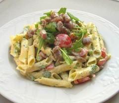 cucina, ricette, ricetta, insalate, tonno, rucola, insalata di pasta